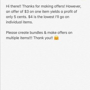 Other - BUNDLE AND I'LL OFFER A DISCOUNT!